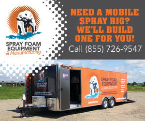 Spray Foam Equipment and Manufacturing Spray Foam Rigs