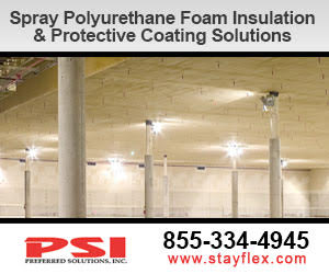 spray-applied polyurethane foam insulation & protective coatings