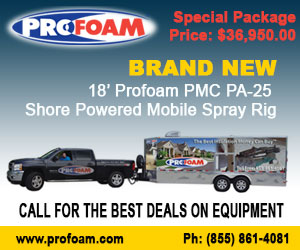Shore Powered Mobile Spray Foam Rig Sale