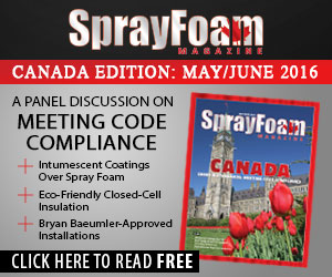 Spray Foam Magazine Canada