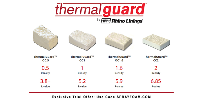 Rhino Linings offers special pricing for SprayFoamcom readers