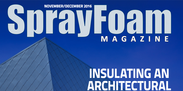 Spray Foam Magazines NovemberDecember Issue is Out NOW