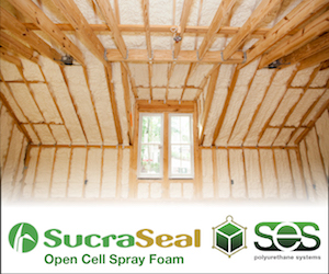 Sucra Seal Open Cell Spray Foam
