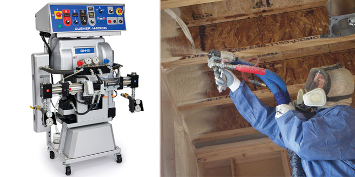 Graco Gusmer machine takes spray foam contractors back to simplicity