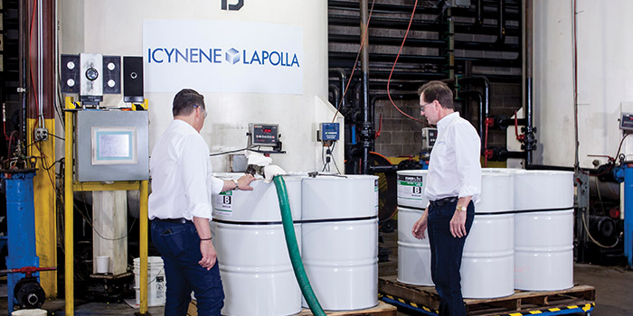 Spray Foam System Houses Icynene and Lapolla Join Forces
