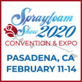 Spray Polyurethane Foam Alliance Sprayfoam Convention & Expo 2020 in Pasadena, California