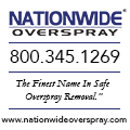 Nationwide Overspray - Spray foam insulation overspray removal services