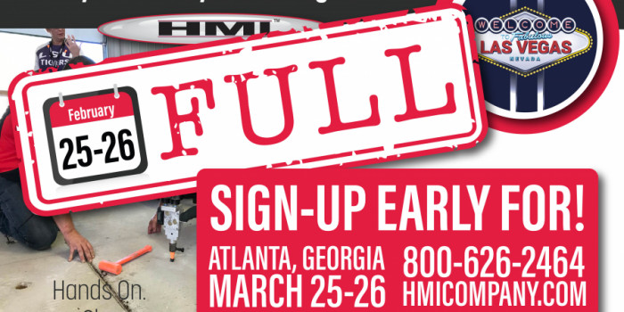 SIGN UP EARLY! HMI Training