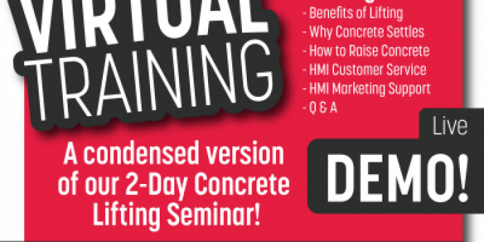 Virtual Concrete Lifting Event! Last in 2020! Don't Miss Out!