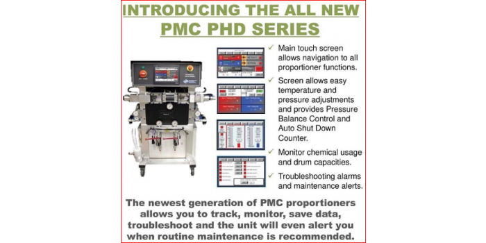 PMCs On-Ratio Data Collection Machine.  $1,500 List Price Saving for Contractors