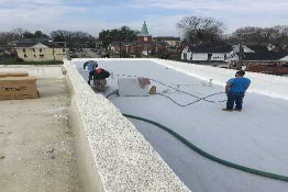 125 Yr Old Building Gets New Spray Foam Roof in Somerset KY