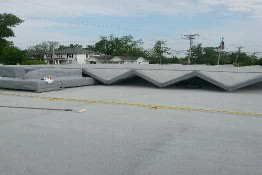 Shelbyville KY Fire Station #1 Gets New Foam Roof System!