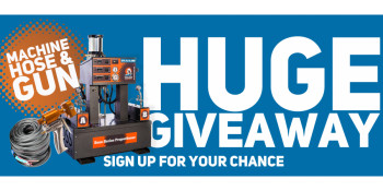 Huge Machine, Hose & Gun Giveaway!