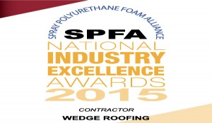 San Francisco Bay Area Roofing Contractor Receives National Spray Foam Roofing Award From SPFA