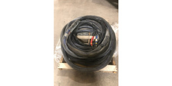 USED: 2 Sections of Heated Hose