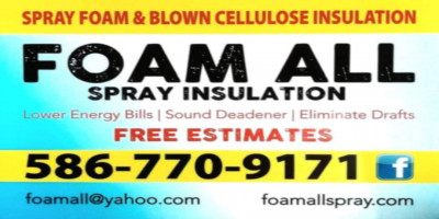 Foam All Spray Insulation