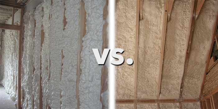 Comparing Closed Cell Spray Foam Vs Open Cell