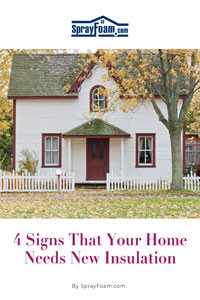 4 Signs That Your Home  Needs New Insulation