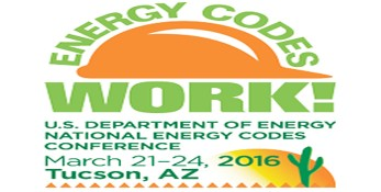 DOE National Energy Codes Conference 2016