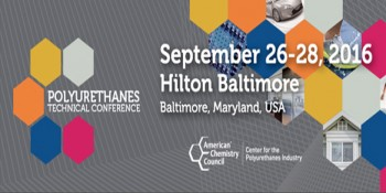 2016 Polyurethanes Technical Conference