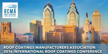 RCMA 2016 International Roof Coatings Conference