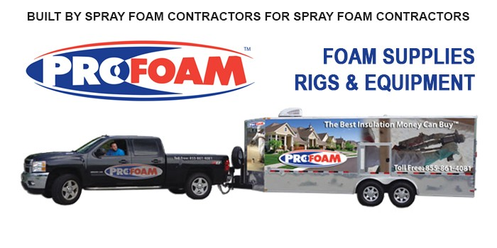 20' Mobile Spray Rig - Profoam Corporation