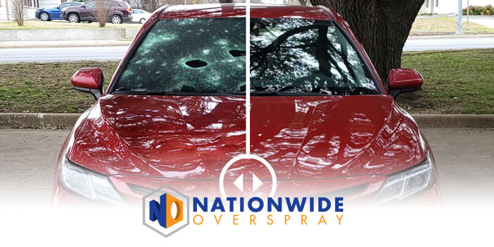 Overspray Removal Services – Nationwide Overspray