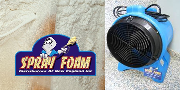 Work Site Fan (lightweight) - Sprayfoam Distributors of New England