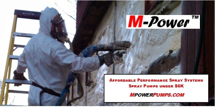 MSeries Low-Pressure Spray Proportioners