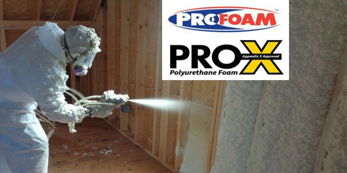 Pro-X Open Cell Spray Foam - Profoam Corporation
