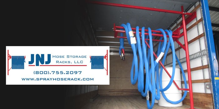 Hose Storage Rack by JNJ Hose Storage Rack, LLC