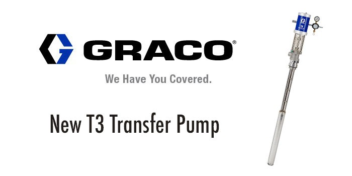 New T3 Transfer Pump - Graco