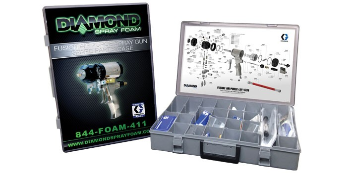 Spray Gun Spare Parts Kit - Diamond Spray Foam
