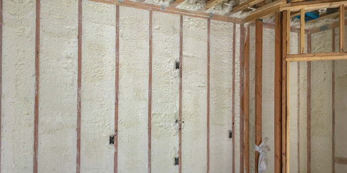 closed-cell spray foam insulation helps rebuild home after louisiana flooding
