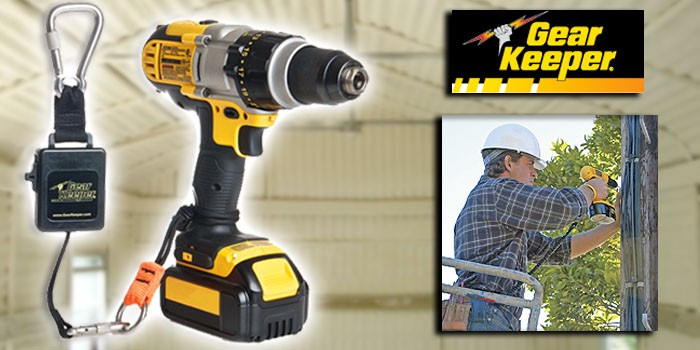 Retractable Tether Keeps Heavy Spray Foam Application Tools Close to Body