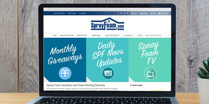 A Note from Spray Foam Magazine - Show Issue 2019