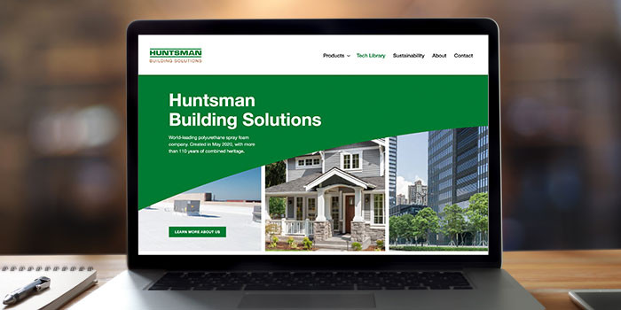 Huntsman Building Solutions Launches New Website