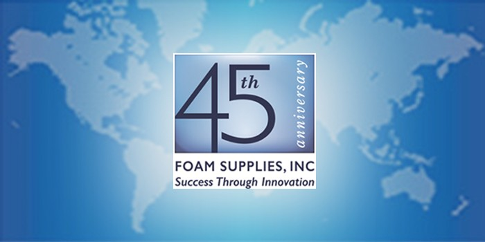 "Foam Supplies, Inc. Celebrates 45 Years of ""Success Through Innovation"""