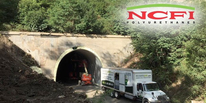 Historic Pennsylvania Tunnel Reopens After 40 Years with Help From NCFI's TerraThane Polyurethane Foam
