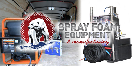 Spray Foam Equipment and Manufacturing Touts Equipment Toughness