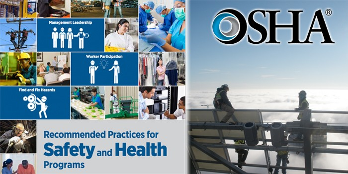 OSHA Releases Updated Recommended Practices to Encourage Workplace Safety and Health Programs