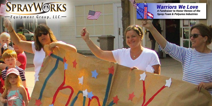 SprayWorks to Host Fundraiser Supporting Veterans Currently Working in Spray Foam Industry