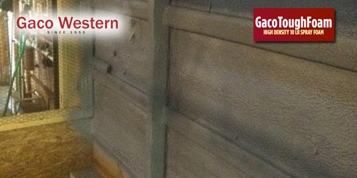 Gaco Western's GacoToughFoam Spray Polyurethane Foam Meets Class A (Class 1) Requirements