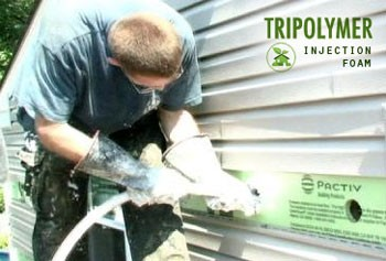 Contractors Praise Tripolymer Injection Foam Insulation