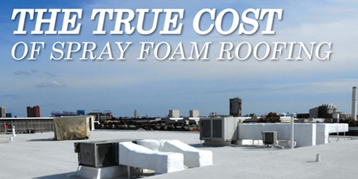 Premium Spray Products Justifies The Initial Cost Of Spray Polyurethane  Foam Roofing Systems