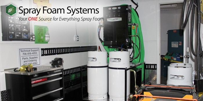Spray Foam Systems Presents New Equipment that Streamlines the Insulation Industry