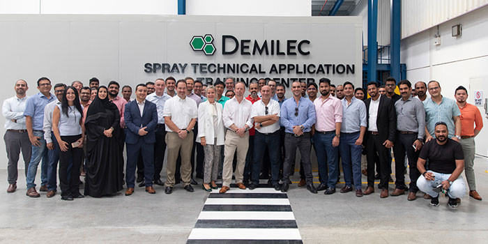 Demilec Spray Foam Expands to the Middle East