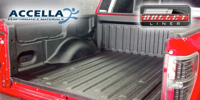 accella systems announces investment in sprayon truck bed liner bullet liner