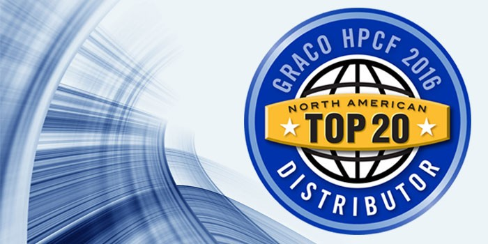 Graco Announces its Top 20 High Performance Coatings and Foam Distributors for 2016