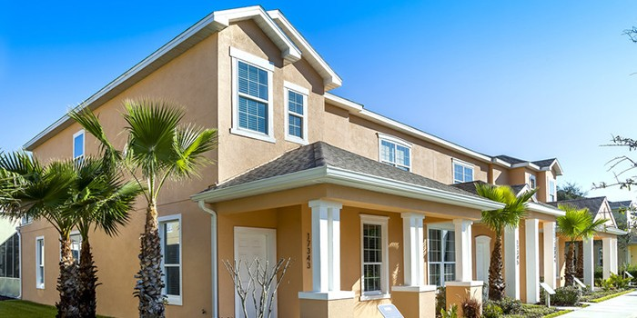 Spray Foam Insulates Modern Vacation Community Townhomes in Orlando